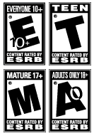 ESRB ratings symbols