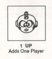 A somewhat convoluted explanation for what a 1-Up does in the Mega Man 2 (1989) instruction booklet.