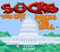Socks the Cat Rocks the Hill