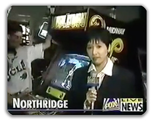 Mortal Kombat on the news.